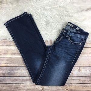 BKE Stella Boot Cut Jeans Dark Wash Size 27 XL
